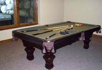 Take A Break Pool Table Setup