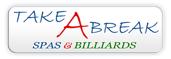 Take A Break Spas & Billiards logo